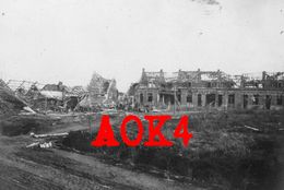 HOUTHEM COMINES 1918 Ruines Abri Flandern Ypern - Guerra, Militari