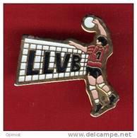 27979-pin's .volley Ball..Ligue Lorraine De Volley-Ball. - Volleyball