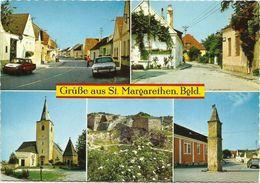 AK St. Margarethen Mehrbild Mit Autos Color 1977 #2351 - Österreich