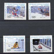 COMORO ISLANDS - 1992 ALBERTVILLE OLYMPICS  O452 - Winter 1992: Albertville