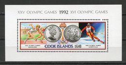 COOK ISLANDS - 1992 ALBERTVILLE OLYMPICS  O451 - Winter 1992: Albertville