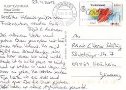 Spanien Las Palmas MWST 2012 Correos Mi. 4676 Tourismus - Poststempel - Freistempel