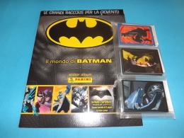 Il Mondo Di Batman Album Vuoto+set Completo Figurine Panini 2016 - Panini