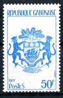 Gabon, 1977, Definitives, Heraldry, MNH, Michel 636 - Gabon (1960-...)
