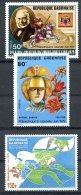 Gabon, 1979, Philexafrique Exhibition, UPU, Rowland Hill, UAPT, MNH, Michel 699-701 - Gabon (1960-...)