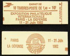 CARNET 2102-C-5a 10 SABINE 1,40F Rouge TB Cote 11€ - Definitives