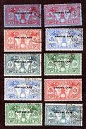 Nouvelles Hébrides Taxes N°1/10 Oblitérés TB  Cote 65 Euros !!!RARE - Postage Due