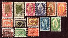 Congo N° 27 à 40 Oblitérés TB  Cote 110 Euros !!! - Used Stamps