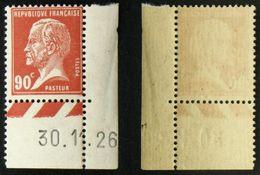 N° 178 90c Rouge PASTEUR Neuf N** TB Cote 23,5€ - 1922-26 Pasteur