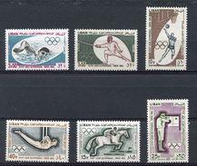 LEBANON - 1964 TOKYO OLYMPIC GAMES  O342 - Summer 1964: Tokyo