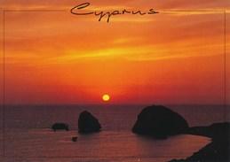 AK 2001 Zypern Aphrodite - Felsen Bei Sonnenuntergang - Zypern