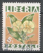 Liberia 1955. Scott #350 (U) Gallichilia Stenosephala, Fleurs, Flowers - Liberia
