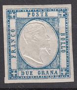 Province Napoletane - 2 Grana (senza Gomma) - 1861-78 Victor Emmanuel II