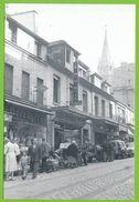 PARIS Années 50 Rue De Ménilmontant Peugeot 203 Renault Dauphine Carte Photo Originale En Tirage Limité à 1000 Ex - Arrondissement: 20