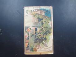 Shakers Revue - Publicités