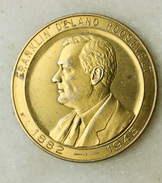 Rare Jeton Monetaire Franklin Delano Roosevelt 1882/1945 - International Monetary Conference 8-22 Mars 1946 Savannah GA. - Casino