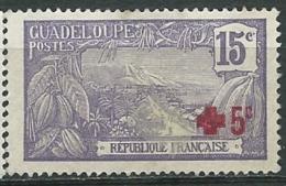 Guadeloupe  -  Yvert N° 76  (*)  - Ai 24305 - India (1892-1954)