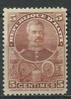 Haiti   -  Yvert N° 104   (*)  Surcharge Décolorée   - Ai 24332 - Haiti