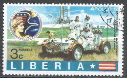 Liberia 1973. Scott #624 (U) Astronauts, Lunar Rover - Liberia