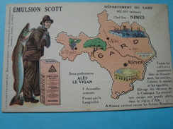 30 - Département Du Gard - Emulsion Scott - France