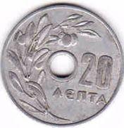 Greece, 20 Lepta 1954 - Grecia