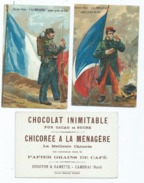 10 Chromos - Chocolat , Chicorée  Duroyon & Ramette (cheval , Soldat , Militaire , Guerre  ) - Duroyon & Ramette