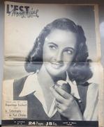 70 - L'Est Magazine N°9 - Catastrophe De Port D'Atelier - 03/03/1949 - Autres