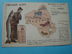 12 - Département De L'Aveyron - Emulsion Scott - France