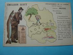 48 - Département De La Lozère - Emulsion Scott - France