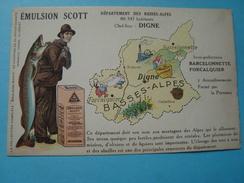 04 - Département Des Basses Alpes - Emulsion Scott - France