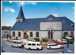 56 - ILE  De GROIX -  Eglise   - Animation, Taxis Camionnettes - Citroën DS Break  - CIM -COMBIER IMP à MACON  Ref 0462 - Groix