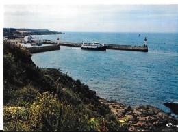 56 - ILE  De GROIX -  Le Port Et Le Nouveau Bateau    - CIM -COMBIER IMP à MACON  Ref 0456 - Groix