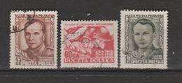 Pologne  1953  N° 720 / 22   Oblitéré - Gebraucht