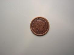 LARGE CENT U.S.A DE 1847 - Monnaies
