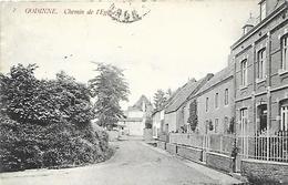 CPA / AK / PK   -  GODINNE   Chemin De L'église - Yvoir