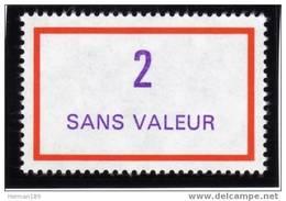FRANCE FICTIF N° F245 ** Timbre Neuf Gomme D´origine Sans Trace De Charnière - TB - Phantomausgaben