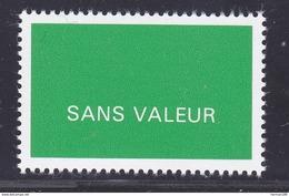 FRANCE FICTIF N° F250 ** MNH Neuf Sans Charnière, TB - Finti