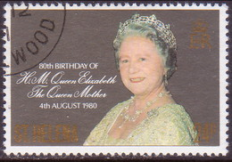 ST HELENA 1980 SG #366 24p Used Queen Mother - Saint Helena Island