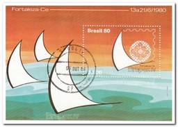Brazilië 1980, Gestempeld USED, BRAPEX - Brazilië