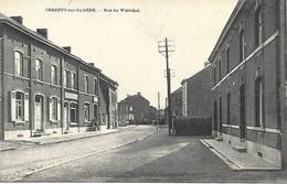 CPA / AK / PK   -  JEMEPPE-SUR-SAMBRE  Rue Du Wérichet - Jemeppe-sur-Sambre