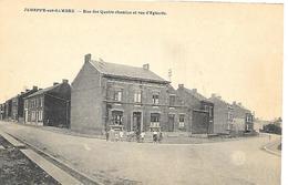 CPA / AK / PK   -  JEMEPPE-SUR-SAMBRE  Rue Des Quatre Chemins Et Rue D'Eghezée - Jemeppe-sur-Sambre