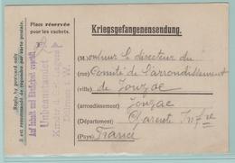 Fr26. 1914-1918 CP/Rép PG. K-Lager Dülmen 3.4.16= Réception De Colis= Chocolat/Pain/Pâtes/Lait/Tabac Etc. - Guerre De 1914-18