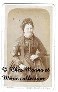 BEAUNE - FEMME GUIGNEY - COTE D OR - CDV PHOTO MILLOT - FAMILLE GENEALOGIE - Anciennes (Av. 1900)