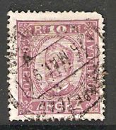 005516 Angra 1892 10 Reis FU Perf 13.5 - Angra
