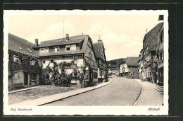 AK Bad Brückenau, Strassenpartie In Der Altstadt - Non Classificati