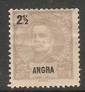 005520 Angra 1897 2 1/2 Reis MH - Angra