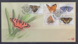 South Africa 2013 Butterflies FDC - Schmetterlinge