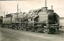 170917 - PHOTO VILAIN - 37 TOURS 4705 PO - Chemin De Fer Train Locomotive - Tours