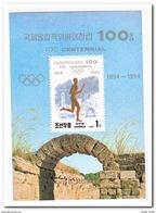 Noord Korea 1994, Postfris MNH, 100 Years Olympic Committee - Korea (Noord)