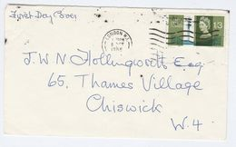 1965 London GB FDC  1/3 POST OFFICE TELECOM TOWER Stamps Cover - FDC